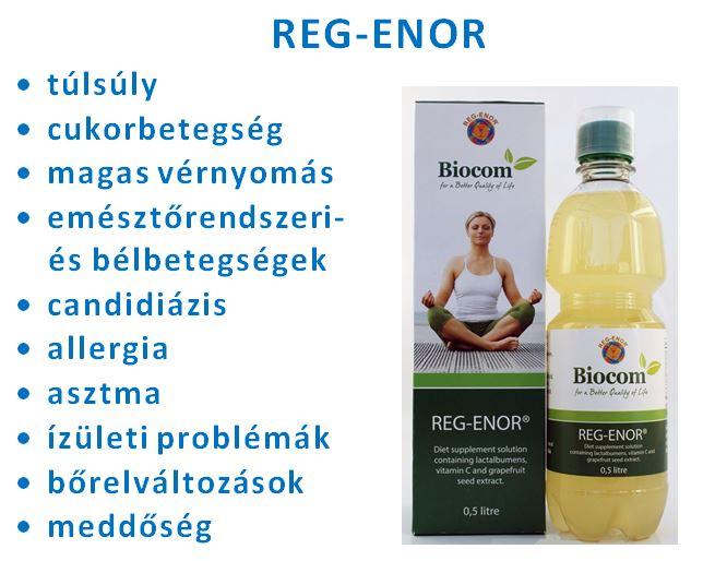 regenor hatása