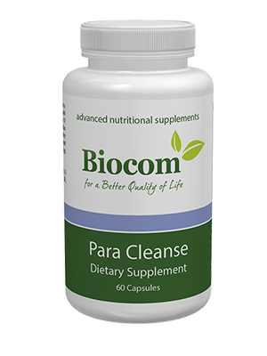 Parazita ellen biocom para cleanse