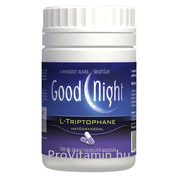 GoodNight, L-thriptophan kapszula