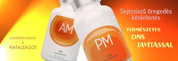 AM és PM ESSENTIALS jeunesseglobal