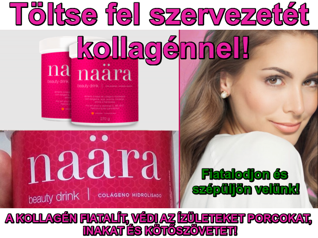 Naara Beauty Drink Collagénnel, vitaminokkal jeunesseglobal