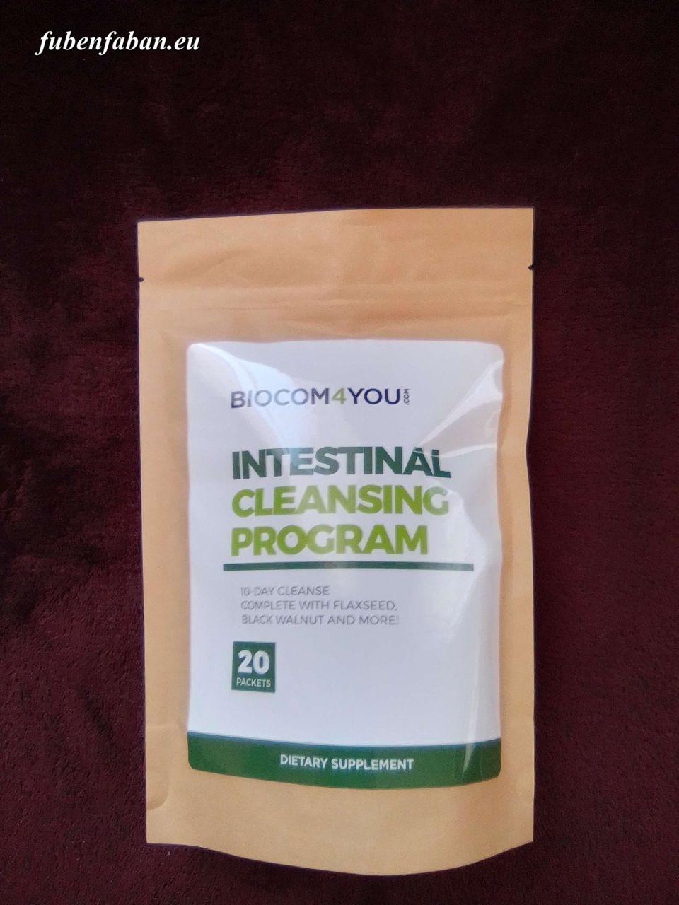 BIOCOM INTESTINAL CLEANSING BÉLTISZTÍTÁS - 10 NAPOS PROGRAM