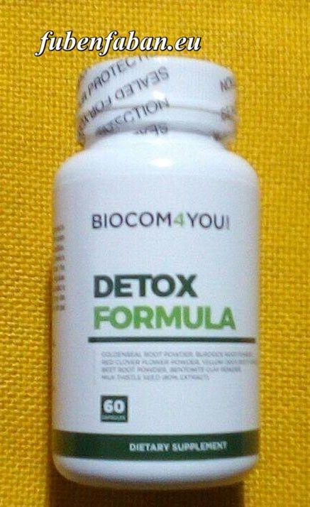 DETOX FORMULA - biocom - A májtisztításért