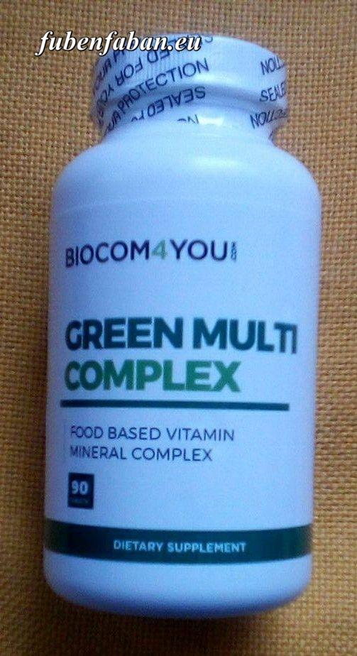 GREEN MULTI COMLPEX - BIOCOM MULTIVITAMIN