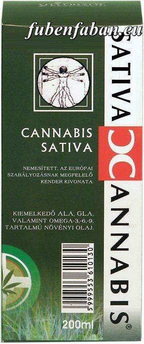 Medicannabis olaj (200ml) - Cannabis Sativa Cannabionid Oil