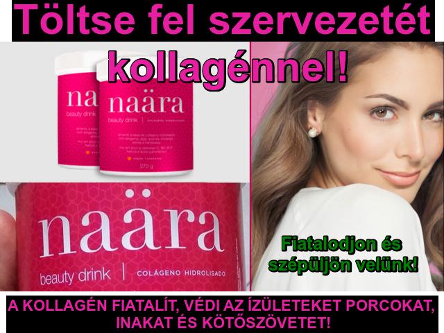 Naara Beauty Drink Collagénnel, vitaminokkal