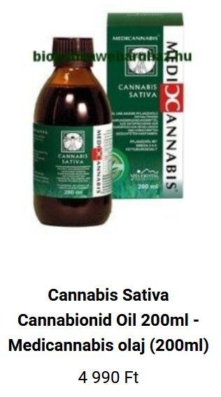 Orvosi cannabis olaj