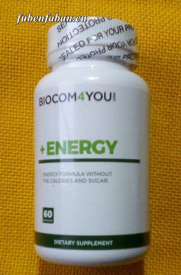 +Energy 60 kapszula - biocom