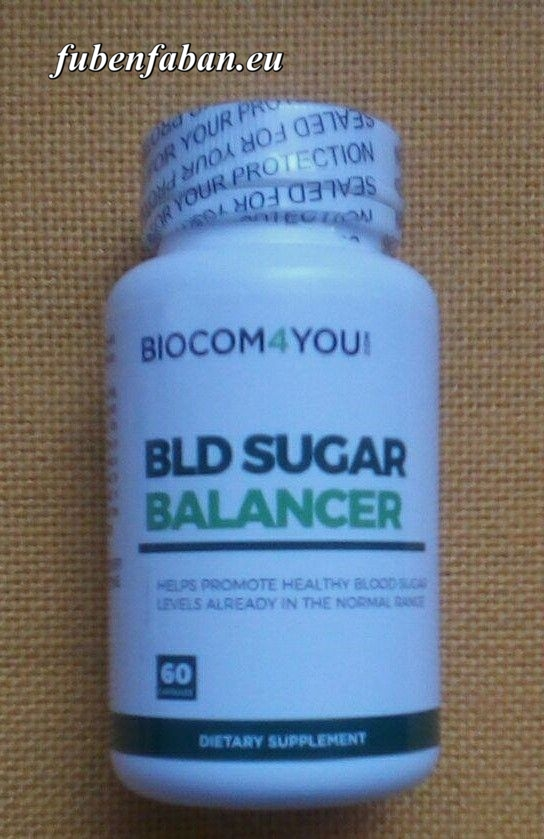 BLD Sugar Balancer - BIOCOM