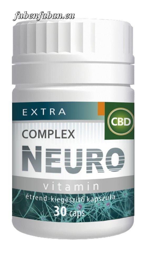 Extra CBD Complex Neuro vitamin kapszula