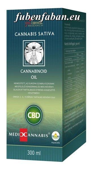 CBD olaj, Cannabis Sativa Cannabinoid Oil - 300ml