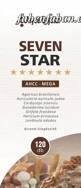 Myco Crystal - Seven Star - AHCC Mega kapszula 120db