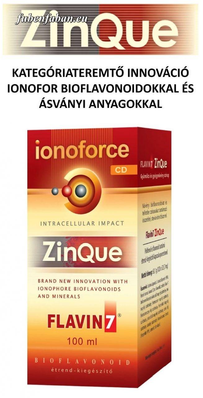 ZinQue Ionoforce Cink ital Falvin7