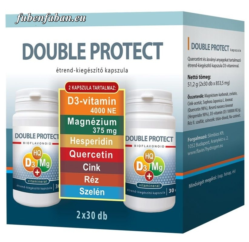 Double Protect Immunbomba Kvercitinnel